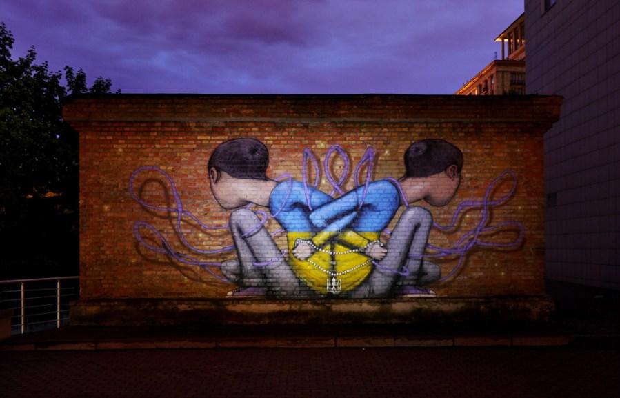 seth globetrotter street art kiev photo credit Amos Chapple:Radio Free Europe