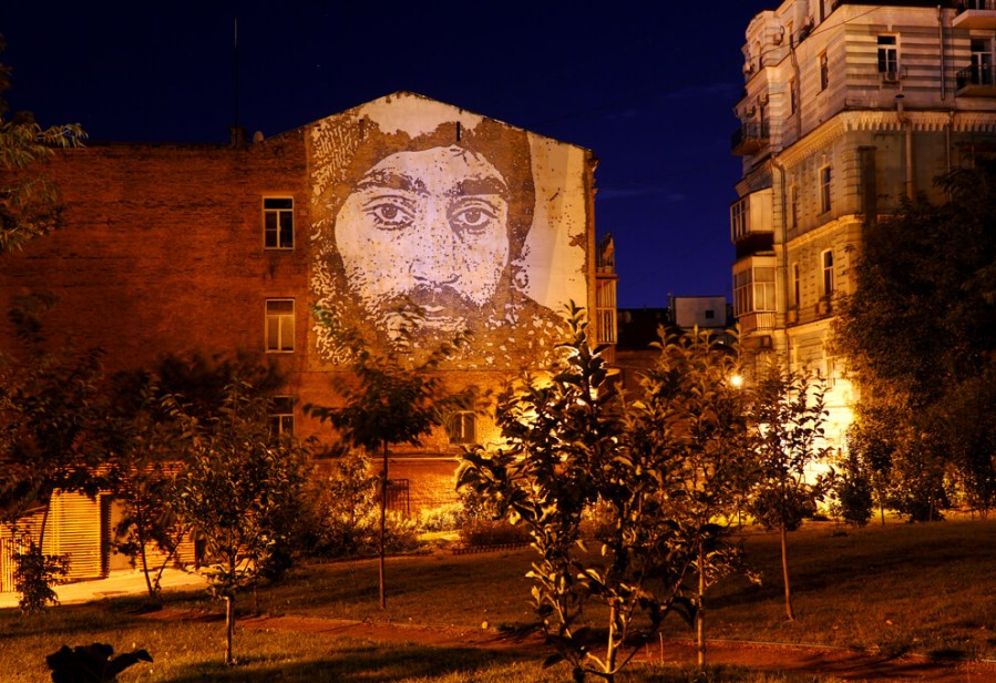 vhils street art kiev photo credit Amos Chapple:Radio Free Europe