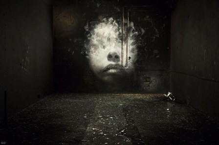 Henrik Uldalen, Nuart Post 2016. Street Art Exhibition. Photo credit Ian Cox