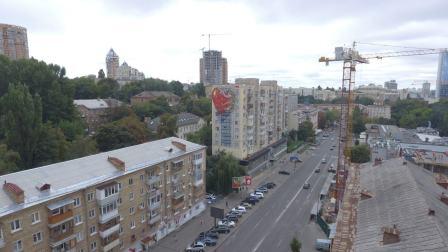 Street artist MTO, Art United Us, Kiev, Ukraine Photo credit Dronarium