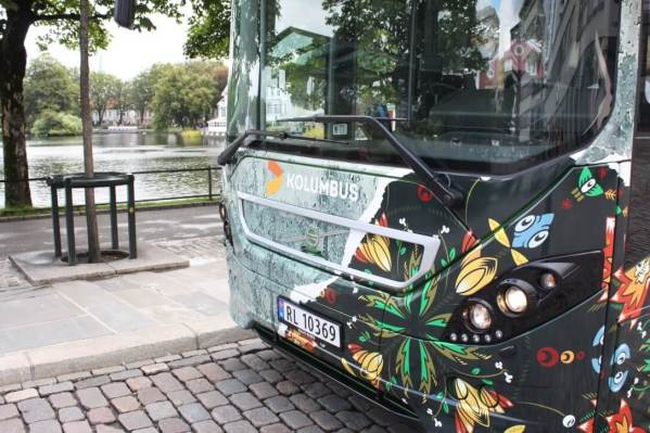 Stavanger Street Art Bus, Norway