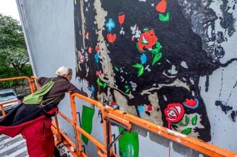 Pulpit rock nimi street art stavanger nuart art city
