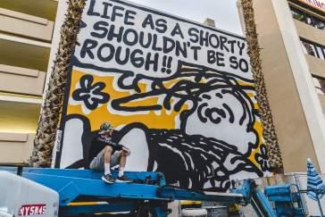 Mark Drew - Life is Beautiful Street Art Festival - Downtown Las Vegas - Photo credit JustKids