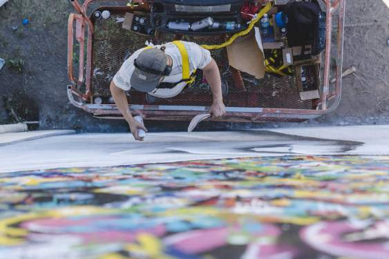 Martin Whatson - Life is Beautiful Street Art Festival - Downtown Las Vegas - Photo credit JustKids