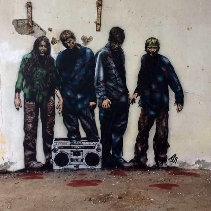 JPS- DeadBeatz Street Art. Photo Credit JPS