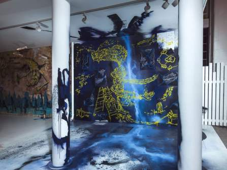 Jens Besser, Magic City, Street Art Exhibition, Dresden, Germany. Photo Credit Rainer Christian Kurzeder