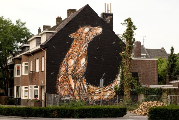 Dzia, Heerlen Murals, Street Art Netherlands. Photo Credit Henrik Haven