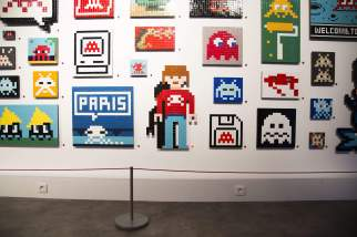 """Hello my Game is..."", Space Invader's solo show, Musee en Herbe, Paris 2017. Photo credit GraffitiStreet"