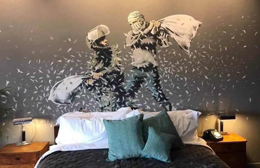 Banksy Walled off Hotel, Bethlehem
