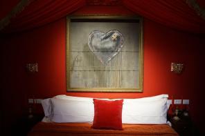 Banksy Walled off Hotel, Presidential suite, Bethlehem.