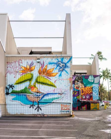 Beak, POW WOW Hawaii 2017. Photo Credit @bshigeta