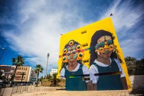 Gleo, Jidar Street Art Festival, Rabat 2017