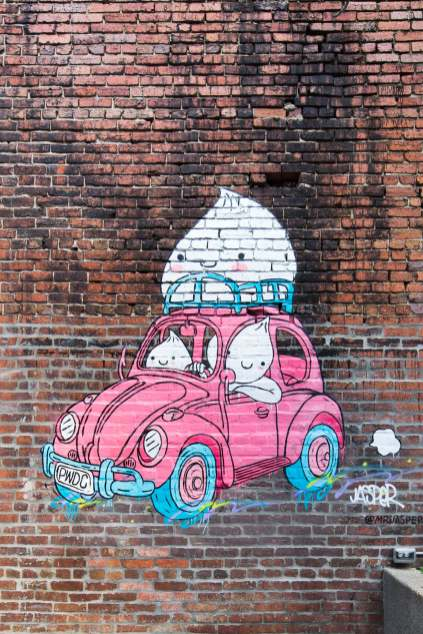 Jasper Wong, POW! WOW! Street Art Festival 2017, NoMa, Washington D.C. Photo Credit POW! WOW!