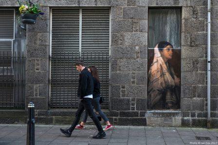 Julien De Casablanca, Nuart Aberdeen Street Art Festival 2017. Photo Credit Ian Cox