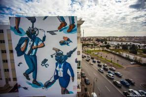 Liquen, Jidar Street Art Festival, Rabat 2017