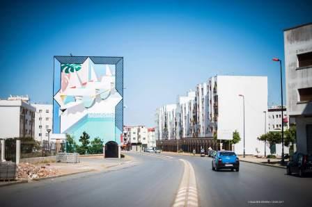 Low Bros, Jidar Street Art Festival, Rabat 2017