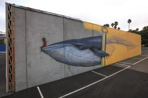 Seth Globepainter, Seawalls: Artists for Oceans, Napier, NZ. Photo Credit Tré Packard