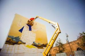 Waone-Jidar-street-art-festival-rabat-2017