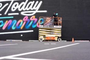 It's a living, POW! WOW! Street Art Festival 2017, NoMa, Washington D.C. Photo Credit POW! WOW!