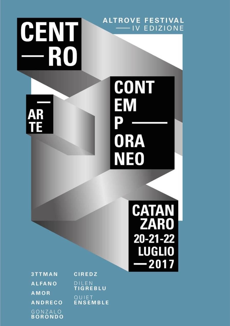 Altrove Street Art Festival, Catanzaro Italy 2017