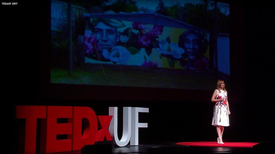 Iryna Kanishcheva, TED Talk 'Connecting Communities Through Public Art' 2017