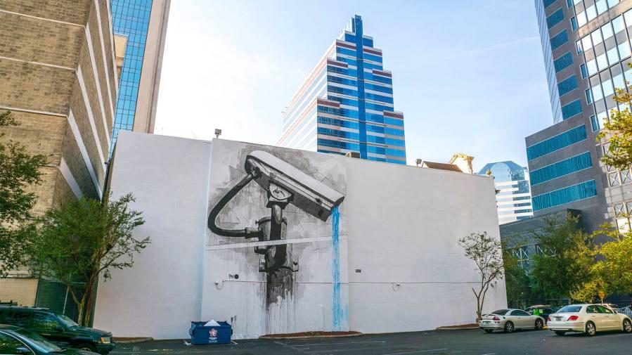 Ino, Jacksonville Street art mural