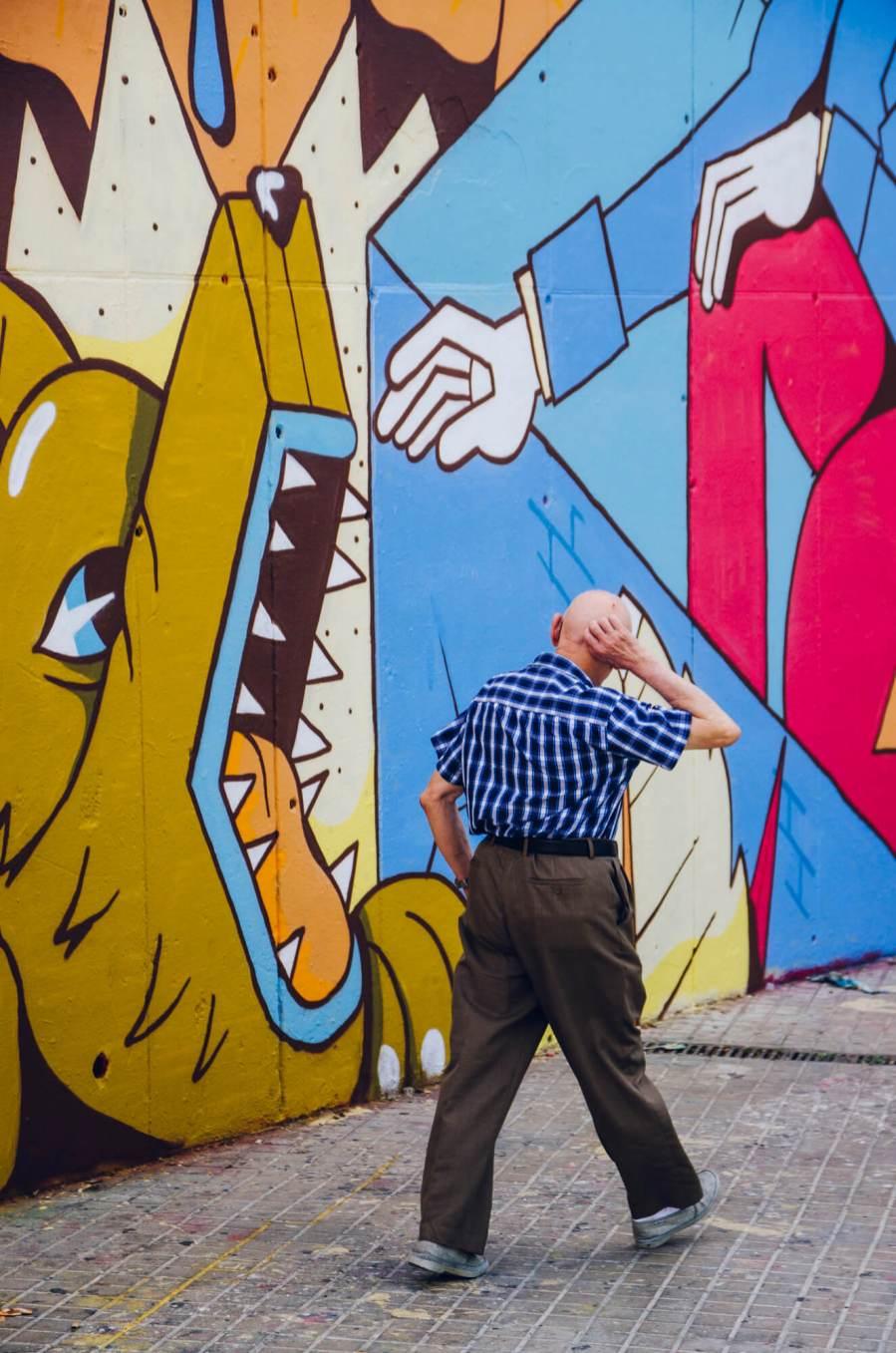 Greediness-street-art-mural-FERNANDO-LEON-urban-art-l'Hospitalet-de-Llobregat-Barcelona-pc-Contorno-Urbano-