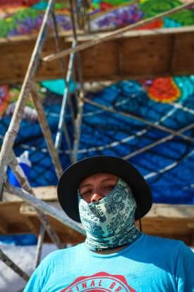 Hongikurisea, Sea Walls: Artists for Oceans Street art festival Cancun, Mexico 2017. Photo Credit Tre' Packard.