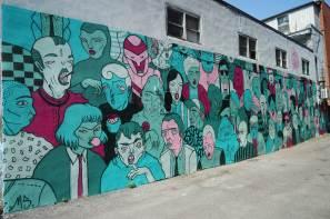 Monosourcil, Mural International Public Street Art Festival, Montreal, Canada 2017. Photo credit @halopigg