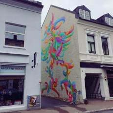 Art for All in the World, Street Art Project, Sandefjord Norway 2017. Photo Credit Art for All in the World.