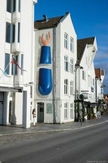 Ampparito, Nuart Street Art Festival, Stavanger, Norway 2017. Photo credit Ian Cox