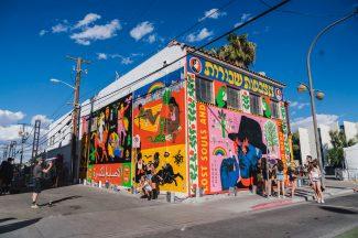 Broken Fingaz, Life is Beautiful, Urban Art Festival, Downtown Las Vegas 2017. Photo Credit Justkids