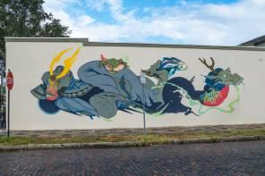 Jose Mertz, SHINE st Petersburg Street Art Festival, Florida 2017. Photo Credit Iryna kanishcheva