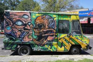 Mexico's Graffiti 2017. Photo Credit FredBombingscience