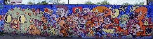 Mexico's Graffiti 2017. Photo Credit Fred/Bombingscience
