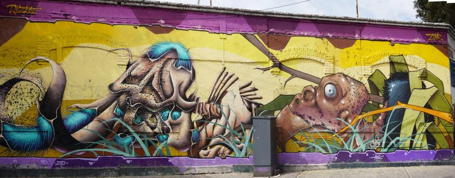 Mexico's Graffiti 2017. Photo Credit Fred/Bombingscience
