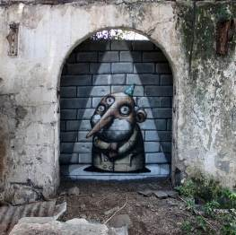 The Show, Ador, Street Art Réunion. Photo credit Ador 2018