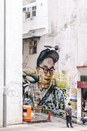 HKWalls Street Art Festival, Hong Kong 2018. Photo Credit Derry Ainsworth