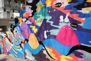 HKWalls Street Art Festival, Hong Kong 2018. Photo Credit Kyra Campbell