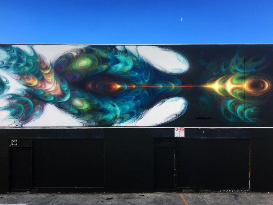 Order55, The Big Picture Fest, Street Art Festival, Frankston, Victoria, Melbourne. Photo Credit @vanstheomega