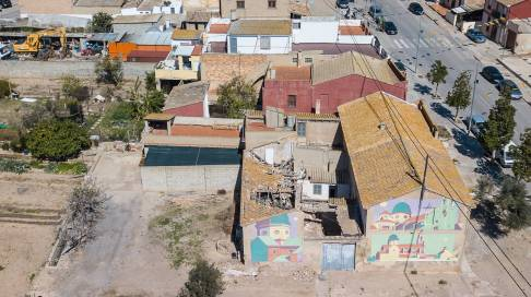 Aryz, La Punta, Valencia 2018. Photo Credit Juanmi Ponce.