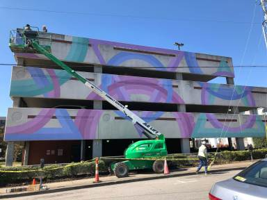Chris Zidek, Nashville Walls Project 2018.