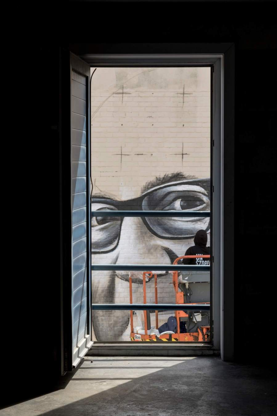 Ben Slow, The Crystal Ship, Urban Art Festival 2018. Photo Credit Henrik Haven
