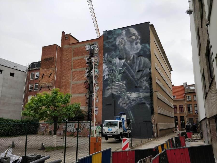 El Mac, Street Art Antwerp, Belgium
