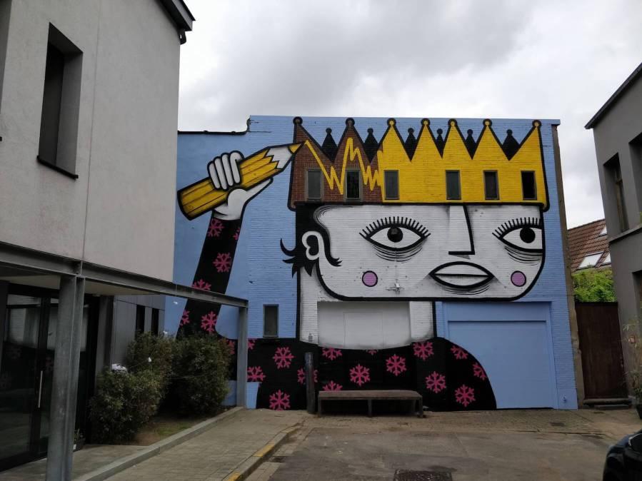 Joachim, Street Art Antwerp, Belgium