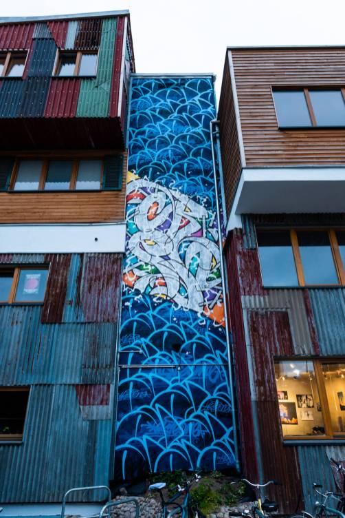 AKTEone, Berlin Mural Fest 2018. Photo Credit Berlin Mural Fest