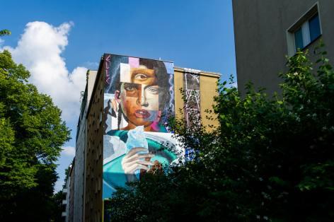Elle, Berlin Mural Fest 2018. Photo Credit Berlin Mural Fest
