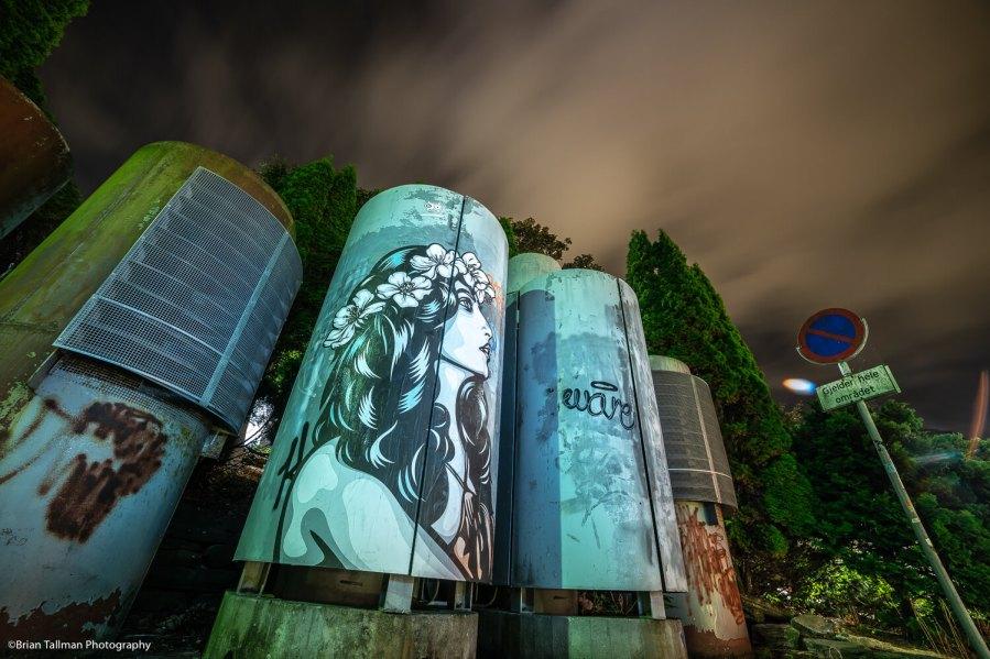 Ener Konings, Nuart Festival 2018. Photo Credit Brian Tallman