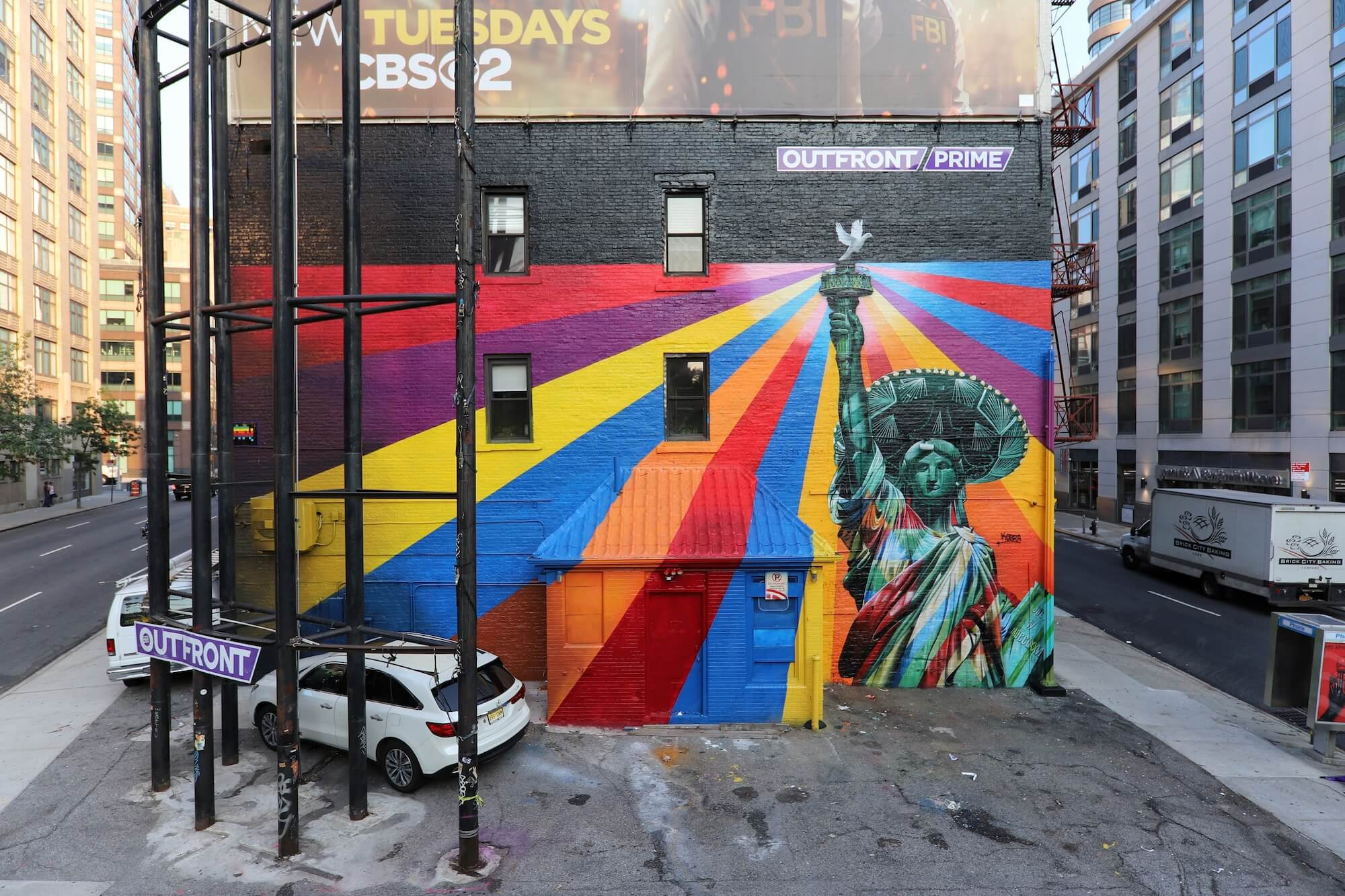 "KOBRA, ""Colors of Liberty"" Peace Project, New York City 2018. Photo Copyright Just_a_Spectator"