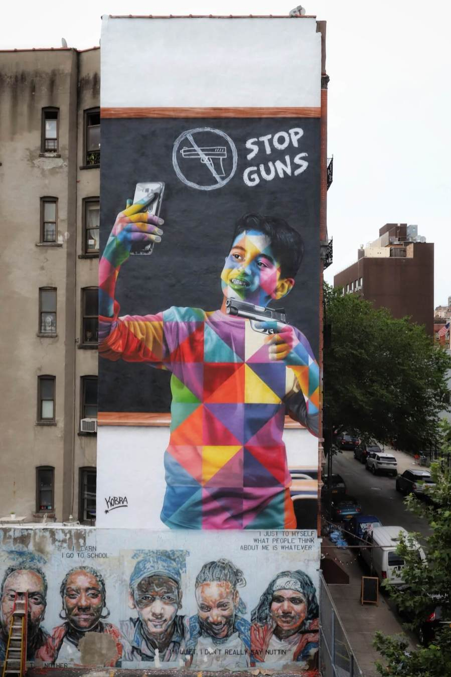 """KOBRA, """"Colors of Liberty"""" Peace Project, New York City 2018. Photo Copyright Just_a_Spectator"""